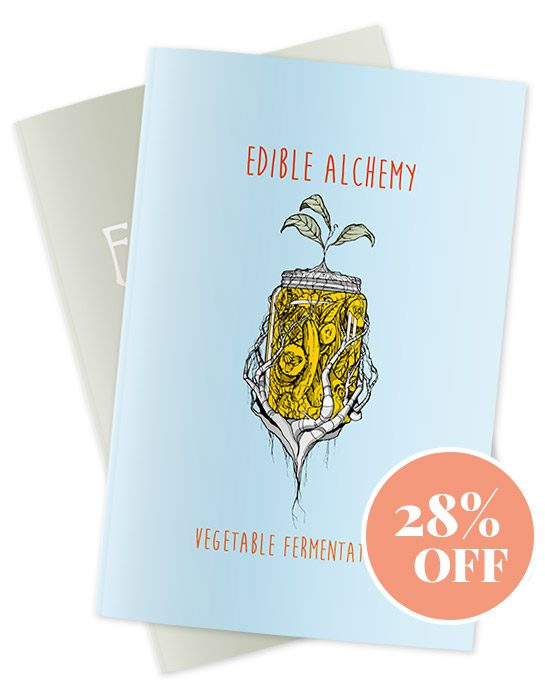 Edible Alchemy Zines Covers