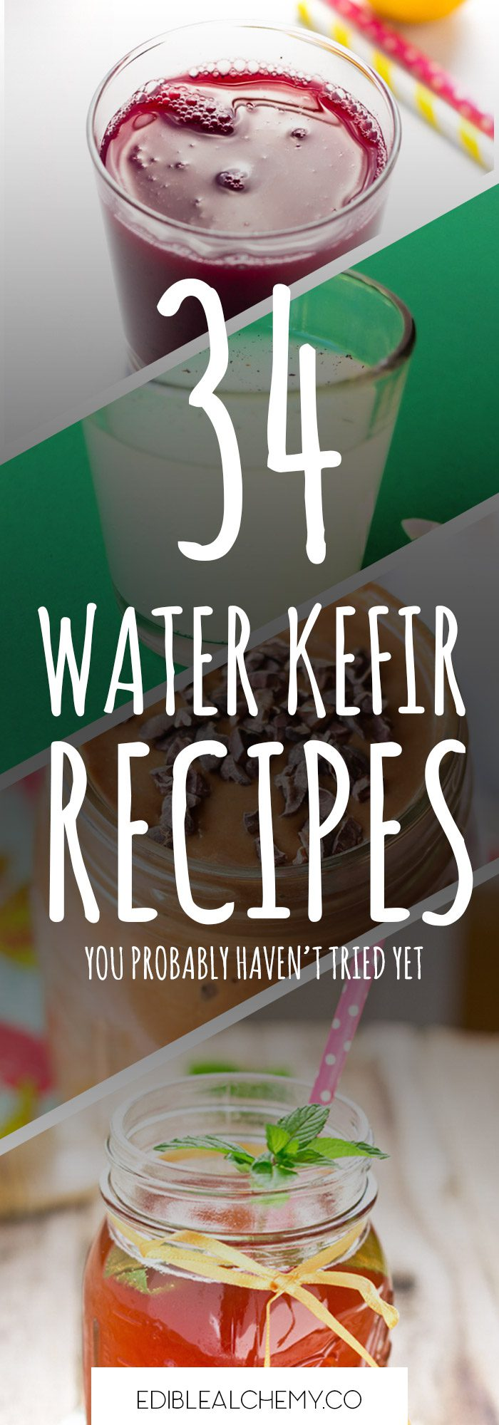 34 water kefir recipes